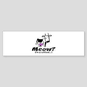 Meow? I'm so confused ~ When Bumper Sticker