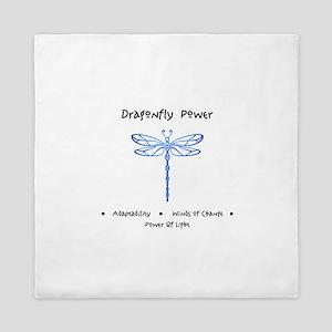 Dragonfly Light Animal Medicine Gifts Queen Duvet