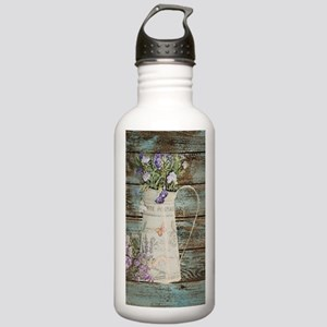 rustic lavender wester Stainless Water Bottle 1.0L