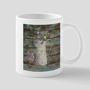 rustic lavender western country Mugs