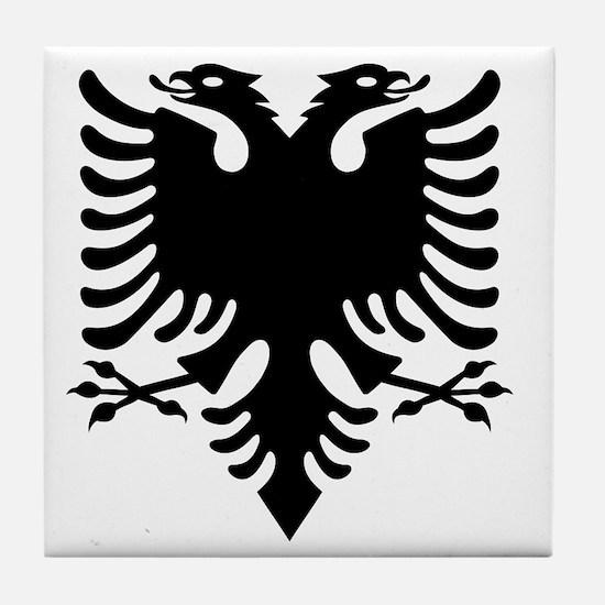 Cute Albanian Tile Coaster