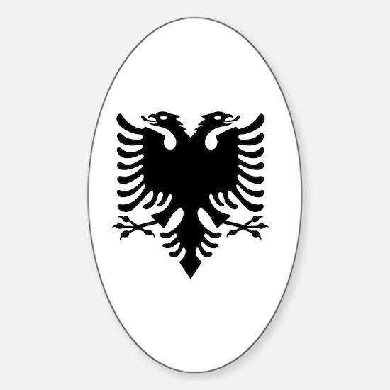 Cute Shqipe Sticker (Oval)