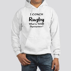 rugby coach Hooded Sweatshirt
