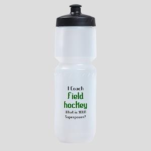 coach field hockey Sports Bottle