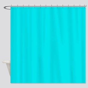 JUST COLORS: TURQ Shower Curtain