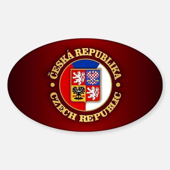 Czech Republic Decal