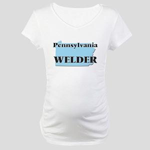 Pennsylvania Welder Maternity T-Shirt