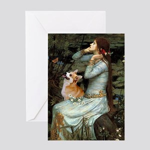 Ophelia's Welsh Greeting Card