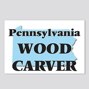 Pennsylvania Wood Carver Postcards (Package of 8)