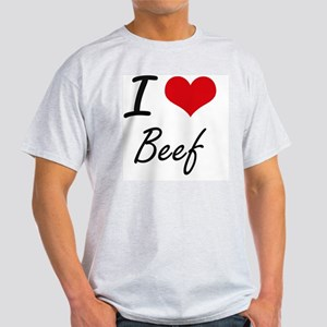 I Love Beef artistic design T-Shirt