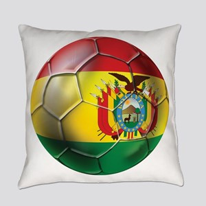 Bolivia Soccer Ball Everyday Pillow