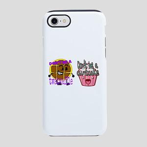 Cuntcake and twatwaffle humo iPhone 8/7 Tough Case