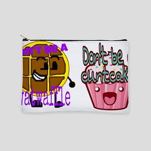 Cuntcake and twatwaffle humor Makeup Bag