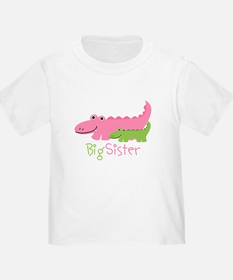 Alligator Big Sister T-Shirt