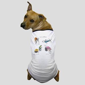 Cats on Bikes Dog T-Shirt