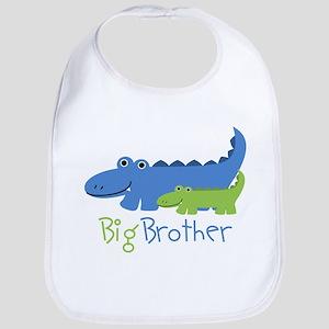 Alligator Big Brother Bib