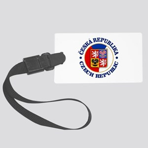 Czech Republic Luggage Tag