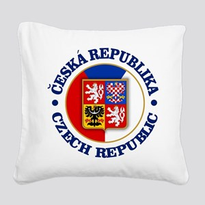 Czech Republic Square Canvas Pillow