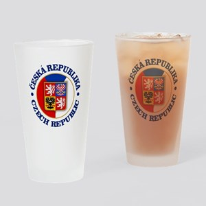 Czech Republic Drinking Glass