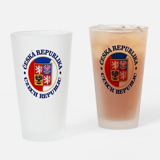 Czech Republic Drinking Glass
