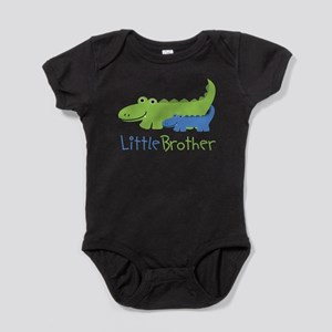 Alligator Little Brother Baby Bodysuit