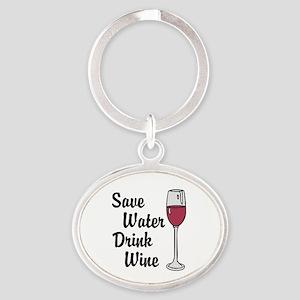 Drink Wine Keychains