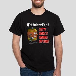 Oktoberfest Roll Out The Barrel Dark T-Shirt