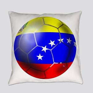 Venezuela Soccer Ball Everyday Pillow