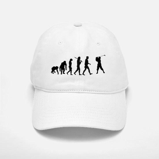 Evolution of Golf Baseball Baseball Cap