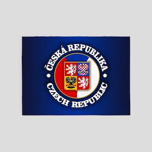 Czech Republic 5'x7'Area Rug