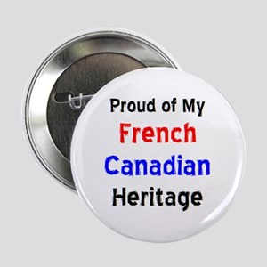 "french canadian heritage 2.25"" Button"