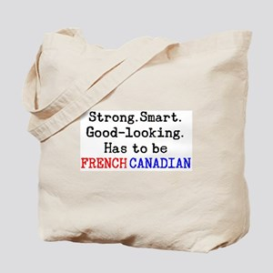 be french canadian Tote Bag