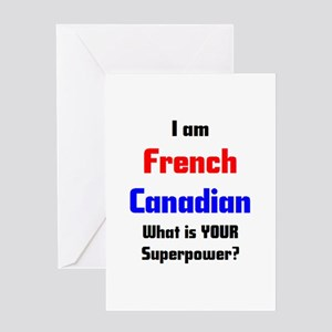 French canadian greeting cards cafepress i am french canadian greeting card m4hsunfo