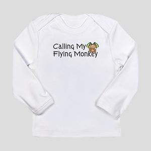calling my flying monkey Long Sleeve T-Shirt