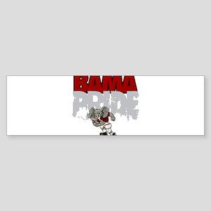 Bama Pride Bumper Sticker