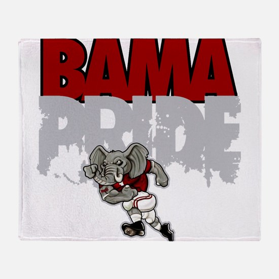 Bama Pride Throw Blanket