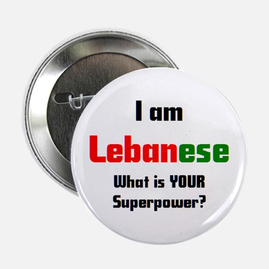 "i am lebanese 2.25"" Button"