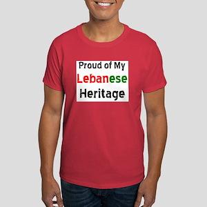lebanese heritage Dark T-Shirt