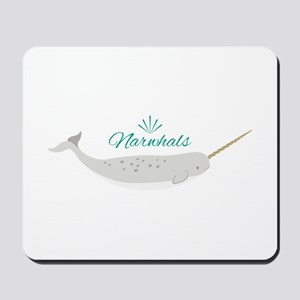 Narwhals Mousepad