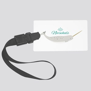 Narwhals Luggage Tag