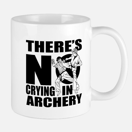 There Is No Crying In Archery Mug