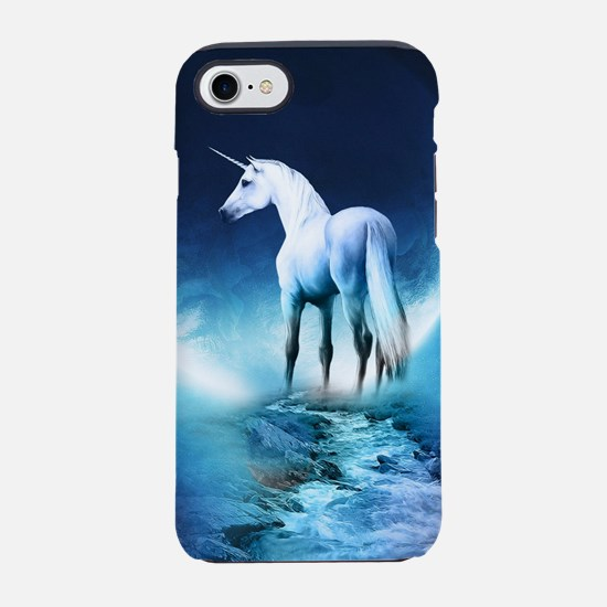 White Unicorn iPhone 8/7 Tough Case