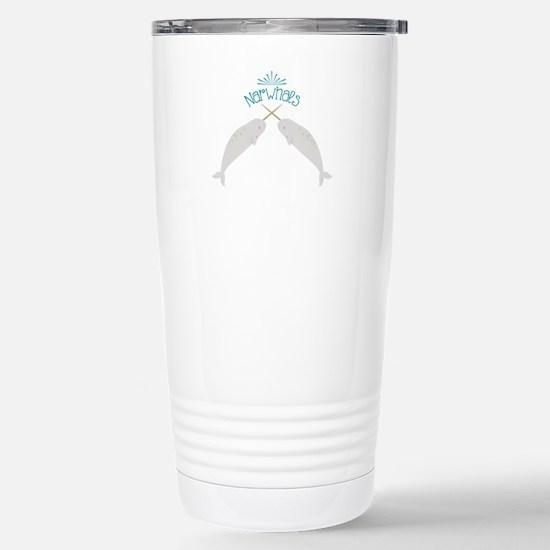 Narwhals Travel Mug