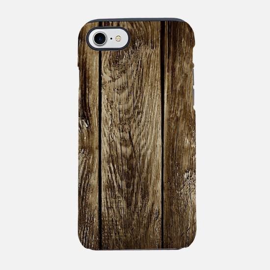 Rustic Wood Planks iPhone 8/7 Tough Case