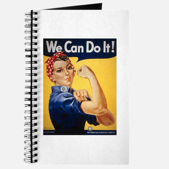Rosie Riveter We Can Do It Journal