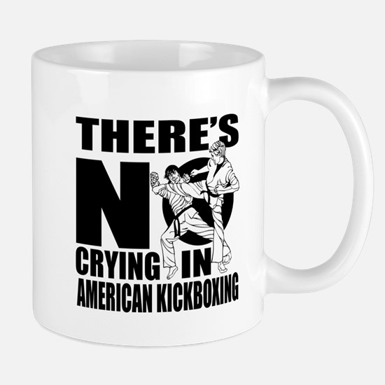 There Is No Crying In American k Mug