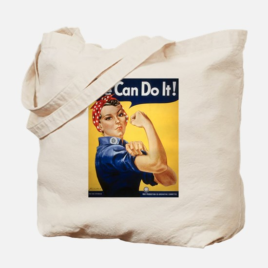 Rosie Riveter We Can Do It Tote Bag