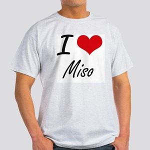 I Love Miso artistic design T-Shirt