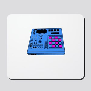 MPC Style Drum Machine Front Mousepad