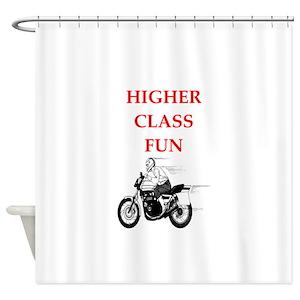 Dirt Bike Jokes Shower Curtains